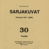 Sarjakuvat - hinnasto 1997-(2000)